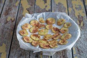 Картофельные чипсы в микроволновке - 3