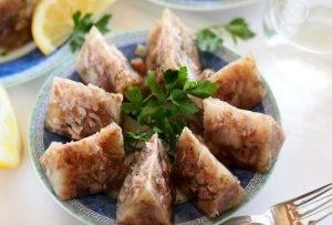Холодец из свинины с петрушкой - 3