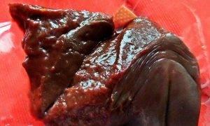 Салат с говяжьей печенью - 0