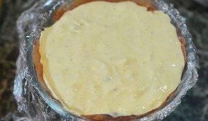 Закусочный торт с крабовой начинкой - 2