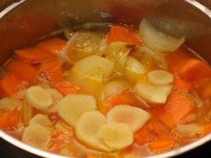 Тыквенный суп-пюре с фрикадельками - 1