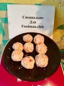 Сырные шарики с крабовыми палочками и чесноком - 7