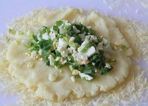 Картофельные зразы с луком и яйцом - 1
