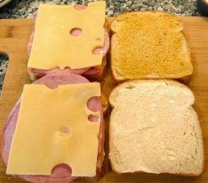 Французские бутерброды «Крок-месье» - 0