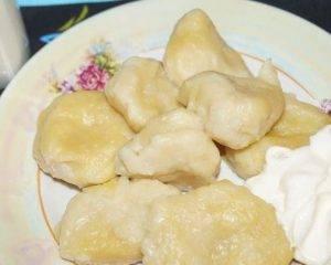 Ленивые вареники с картошкой - 6