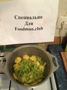 Тушеные замороженные овощи - 5
