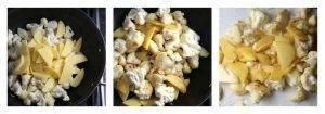Жареная цветная капуста с картофелем по-индийски - 0