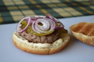 Бургер с говядиной - 3