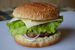 Бургер с говядиной - 4