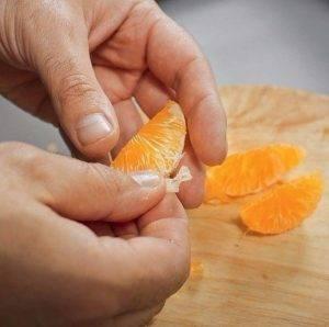 Куриный рулет с мандаринами и черносливом на пару - 0