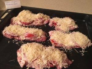 Мясо по-французски с помидорами - 2