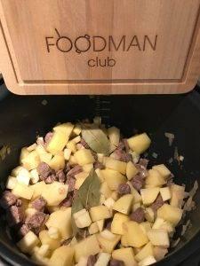 Картошка с мясом в мультиварке - 1