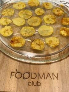 Картофельные чипсы в микроволновке - 4