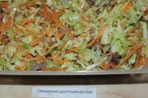 Салат из капусты с мясом - 3