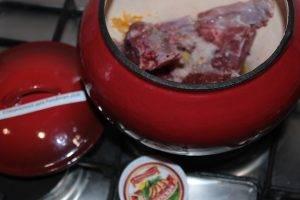 Каша гречневая с мясом - 1