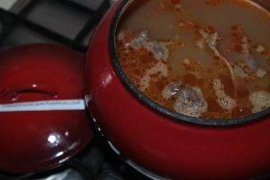 Каша гречневая с мясом - 3