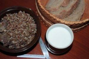 Каша гречневая с мясом - 5
