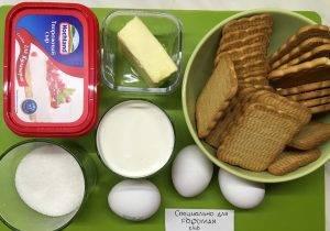 Чизкейк со сливочным сыром - 0