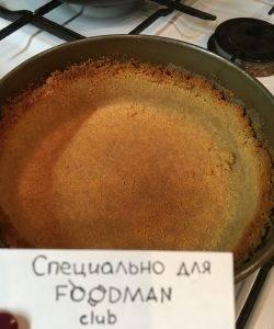 Чизкейк со сливочным сыром - 4