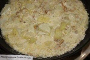 Картофель, жаренный с лисичками - 5