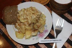 Картофель, жаренный с лисичками - 6