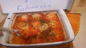 Куриные фрикадельки с сыром в томатном соусе - 5