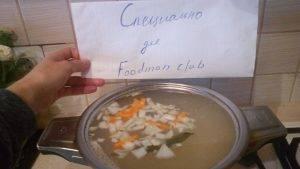 Суп с куриными фрикадельками - 2