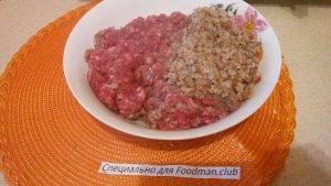 Говяжьи гречаники на сковородке - 2