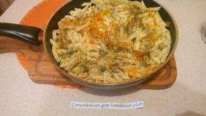 Макароны с овощами - 5