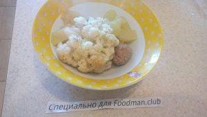 Мясной овощной микс для детей до 1 года - 2