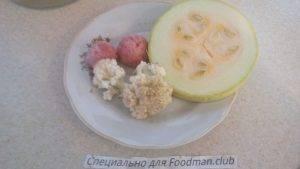 Мясной овощной микс для детей до 1 года - 0