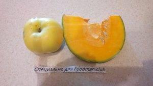 Тыквенно-яблочный микс для малышей до 1 года - 0