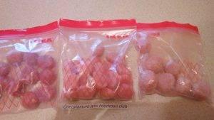 Замороженные куриные шарики для малышей - 4