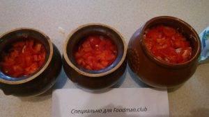 Жаркое в горшочке с говядиной, картошкой, луком и болгарским перцем - 7