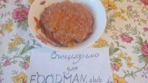 Говяжьи тефтели с морковью и гречкой, запеченные в томатном соусе - 1