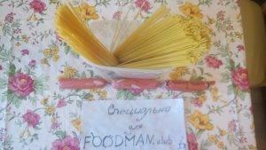 Оригинальные спагетти с сосисками - 0