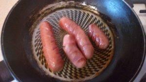 Острые жареные сосиски - 2