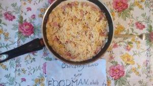 Острая пицца для любимого на сковороде - 9