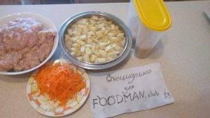 Суп с куриными фрикадельками и вермишелью - 0