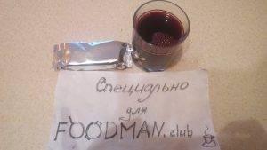 Сладкий компот с вишней и смородиной - 1