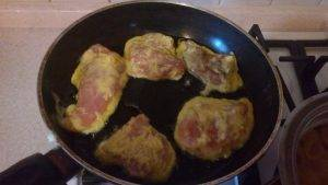 Куриные отбивные в сырном кляре - 4
