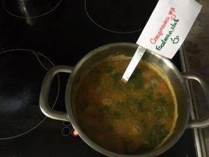 Постный гороховый суп - 5