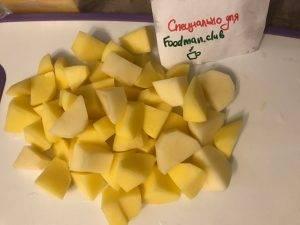 Картошка с опятами в горшочках - 3