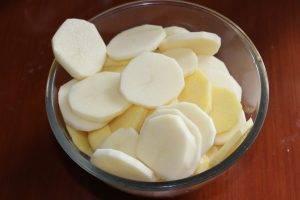 Картофель, жаренный с лисичками - 3