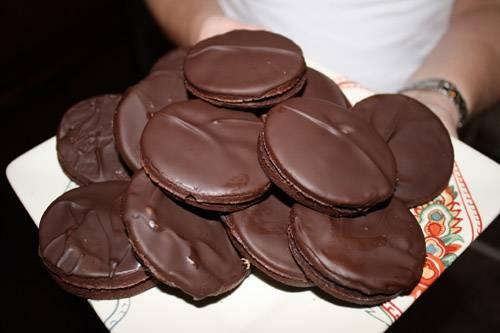 сил печенье в шоколадной глазури рецепт с фото бои