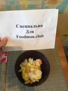 Суп с куриными крыльями и замороженным горохом - 2