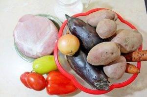 Тушеное мясо с овощами - 0