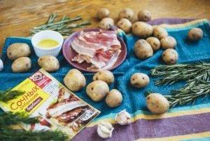 Запеченный картофель с беконом - 0