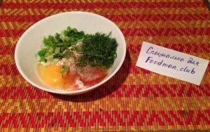 Овсяноблин с сыром и помидорами - 1