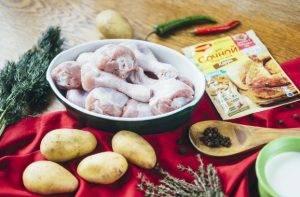 Курица карри с картофелем по-деревенски - 0